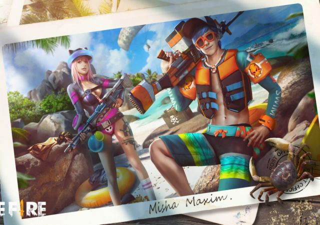 Soak up the virtual sun in Free Fire's Beach Party Event